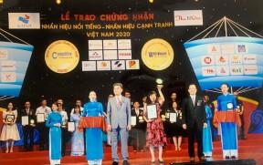 """SUNCO VINH DỰ ĐẠT DANH HIỆU """"TOP 50 NHÃN HIỆU NỔI TIẾNG VIỆT NAM NĂM 2020"""""""