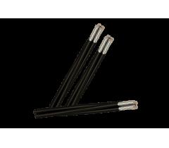 Aluminum cable braided screw_ABC 4X
